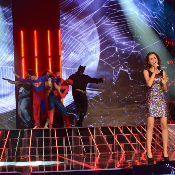 Anna Maria preforming Made in the USA by Demi Lovato
