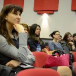 Focused on the lecture