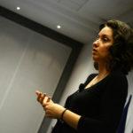 Magdalina Atanassova presenting