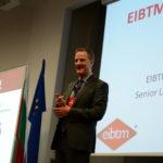 Ron Dawson presenting the event eco system