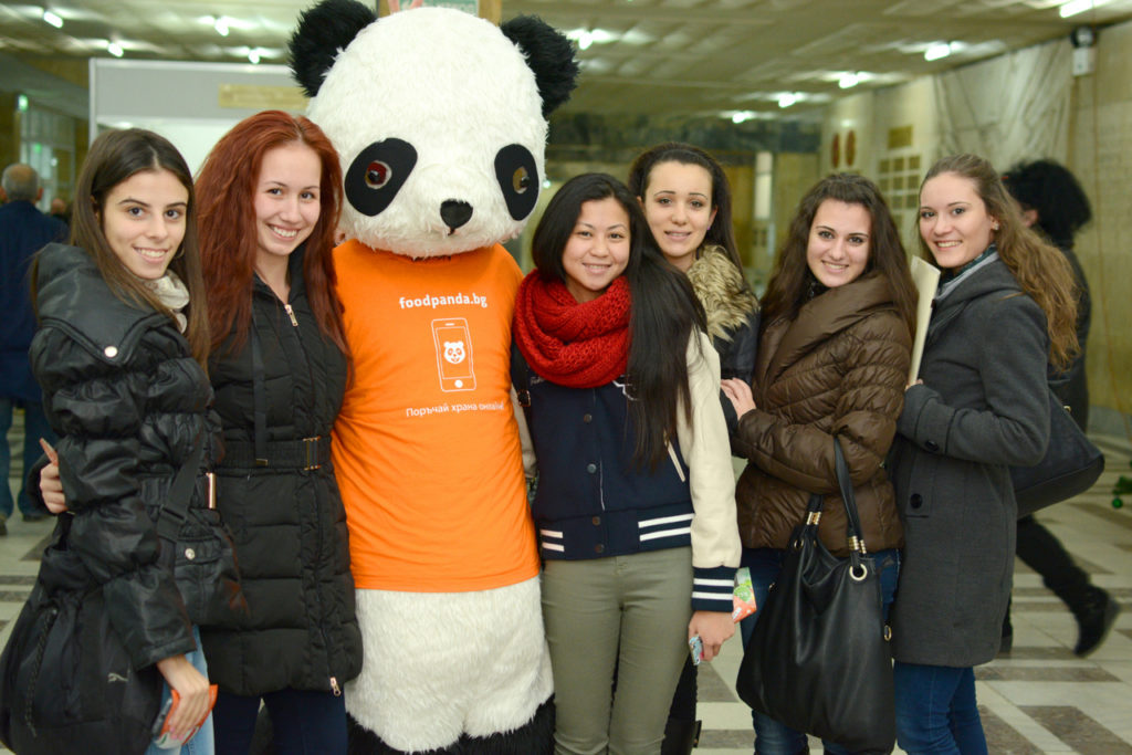 Grab the panda