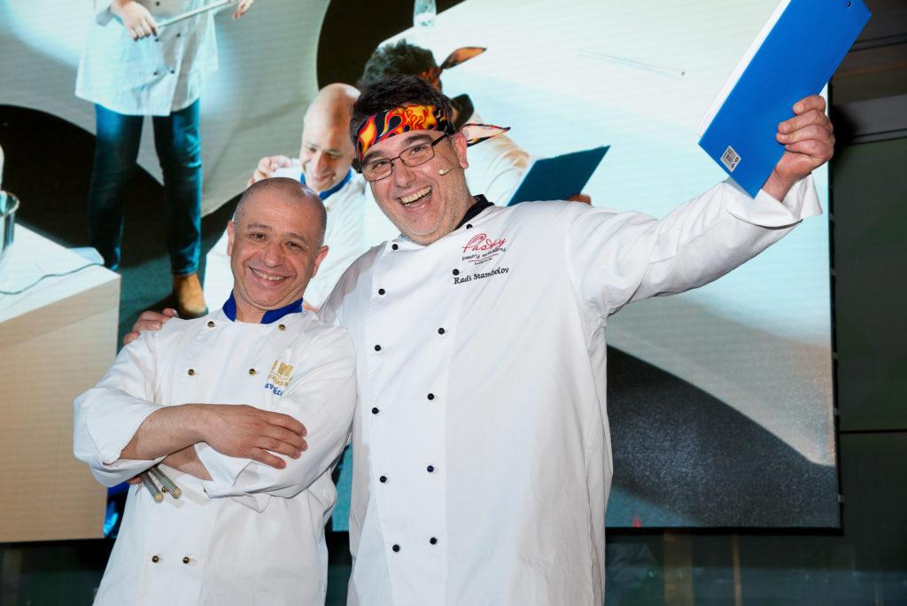 Chefs Stambolov and Ekzarhov