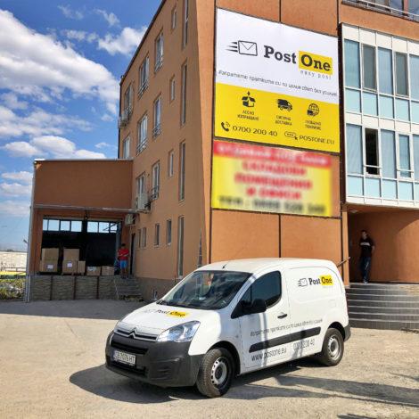 PostOne warehouse branding
