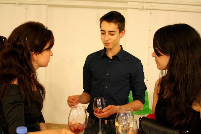 The president for one day - Nikola - co-founder of Entrepeneur.bg