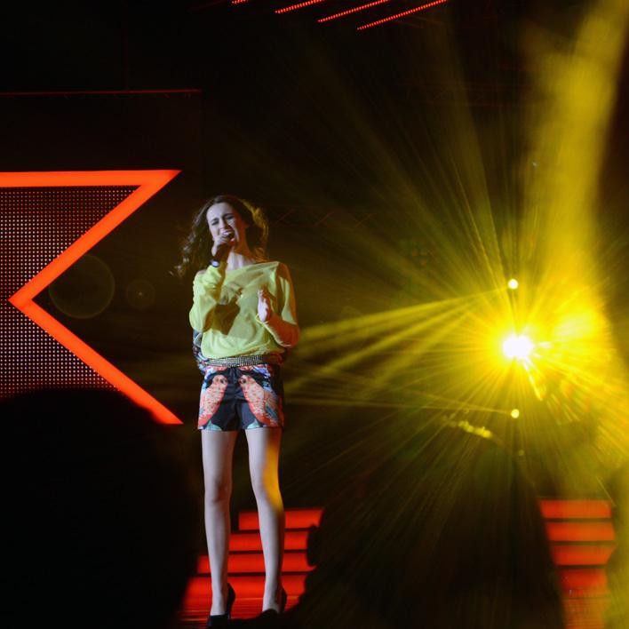Anna Maria singing Hurt by  Christina Aguilera