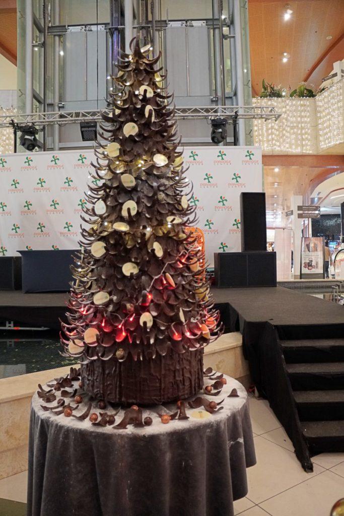 Paradise Center chocolate Christmas tree5