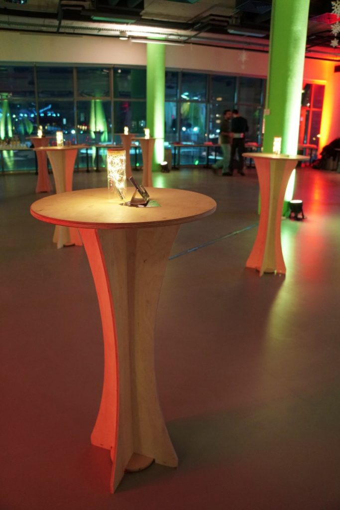Campus X bar tables 3