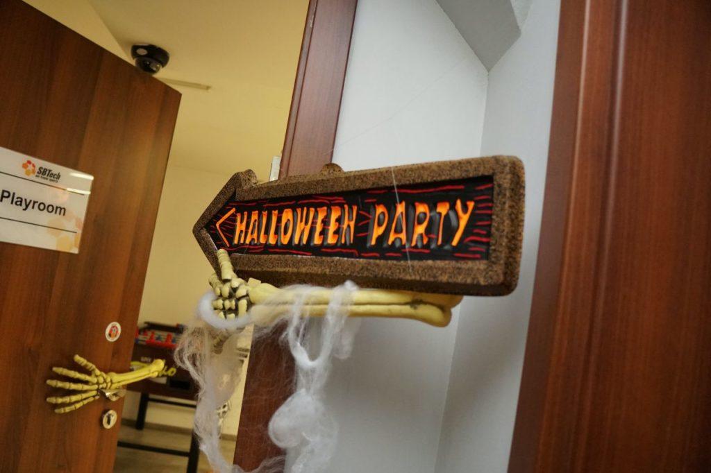 Sbtech halloween party 2019 6
