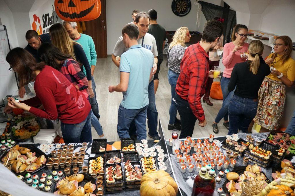 Sbtech halloween party 2019 8
