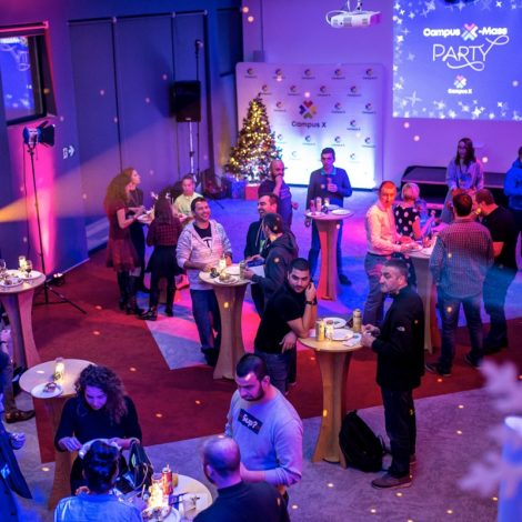 Campus X Christmas's party