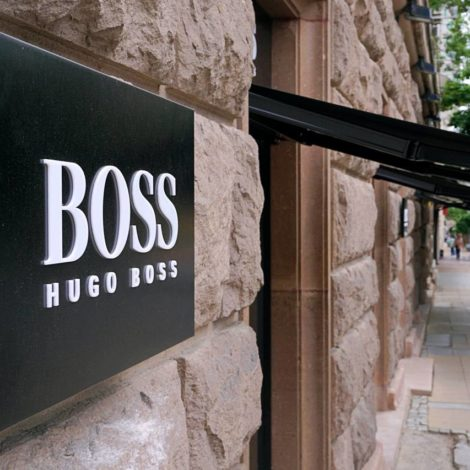 BOSS new store in Sofia photography